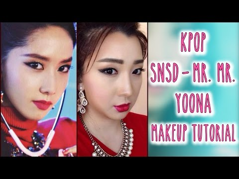 KPOP SNSD Mr. Mr. Yoona Makeup Tutorial