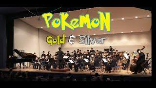 【Brass Band】Pokémon Gold & Silver (Heartgold & Soulsilver) versions medley