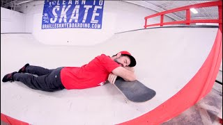 YOU MUST DO 25 TRICKS AT THE SKATEPARK! / Warehouse Wednesday!