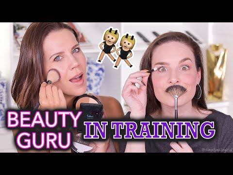 NO MAKEUP MAKEUP | Teach Me How To Beauty Tour EP1 ft. Tati Westbrook