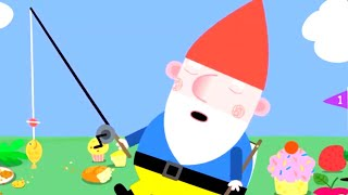 Ben and Holly's Little Kingdom | Gnome Fishing | Kids Videos