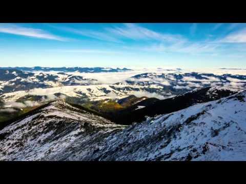 Один день в Карпатах на вершине горы Поп