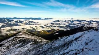 Один день в Карпатах на вершине горы Поп Иван.