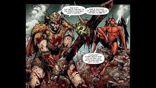 Asgard and Olympus vs Lucifer