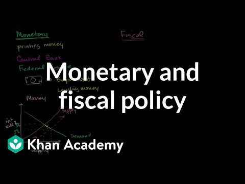 Monetary and fiscal policy (video) | Khan Academy