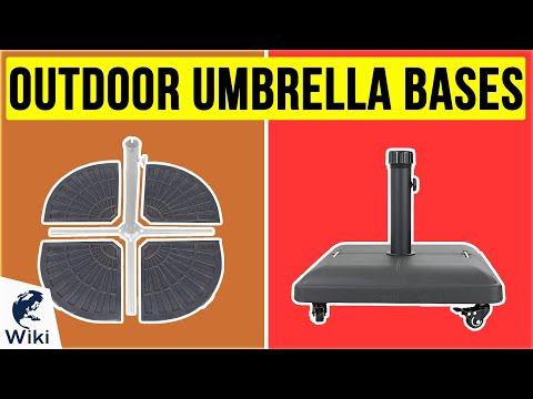 10 Best Outdoor Umbrella Bases 2020
