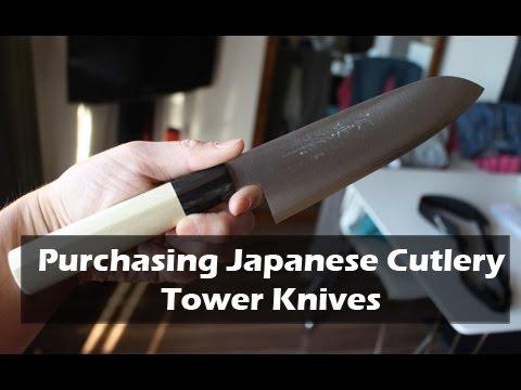 Purchasing Japanese Knives at Tower Knives Osaka