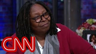 Why Whoopi Goldberg won't say Trump's name