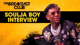 The Breakfast Club - Soulja Boy Talks Why He Took A Break + Life After Last Iconic Breakfast Club Interview