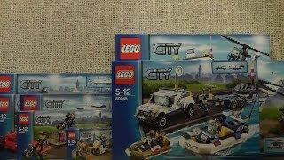 preview picture of video 'NOWOŚCI STYCZEŃ 2014 LEGO CITY POLICJA'