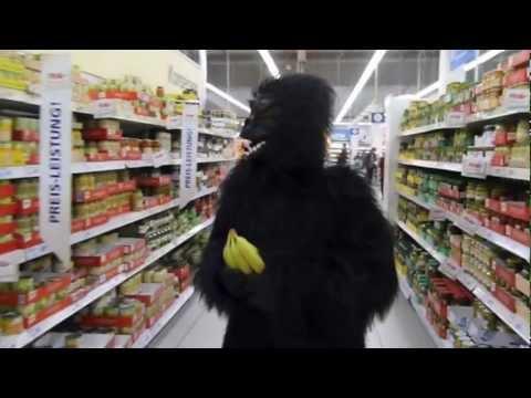 Mit Affenkostüm durch die Stadt: Teil 1 - Monkeyjobbing