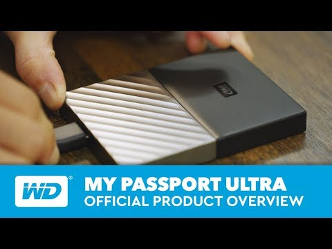 WD My Passport Ultra (1TB)
