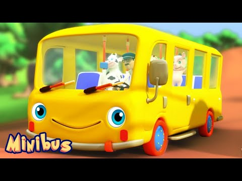 Download The Wheels on The Bus 🚌 Songs for Kids and Babies - Nursery Rhymes Videos HD Video