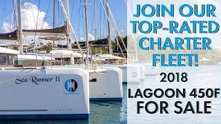 "2018 Lagoon 450F Sailing Catamaran FOR SALE ""INDY"" | Option for Guaranteed Income Program"