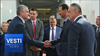 Crimea and Damascus Host Important Talks: Russia to Provide Syria With Important Rebuilding Material