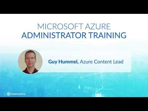 Prepare for the AZ-103 Exam: Microsoft Azure Administrator - Azure ...