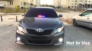 best police strobe lights and siren