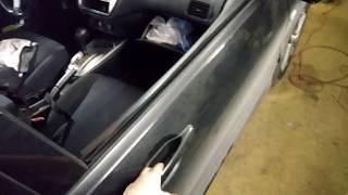 Правая передняя дверь до ремонта