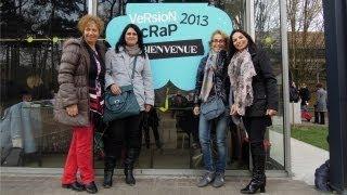 VLOG: Ven conmigo a... Versión Scrap 2013  ♡ Mis compras en París ♡