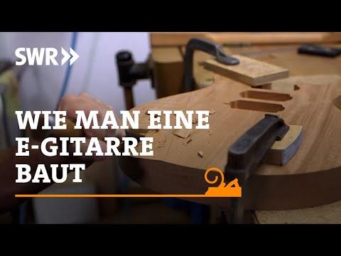 Handwerkskunst! Wie man eine E-Gitarre baut | SWR Fernsehen