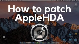 Safely Enable Audio in Hackintosh High Sierra 10 13 4 Using