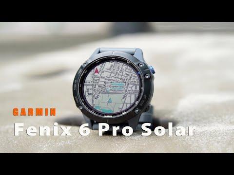 Garmin Fenix 6 Pro Solar Series