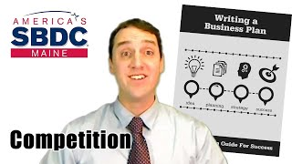 Writing a Business Plan - Competition