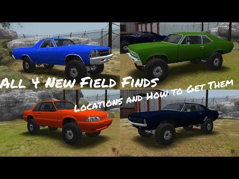 Offroad Outlaws All 4 New Field Find Locations Revealed And How To Get Them