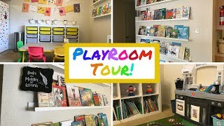 Playroom Tour | Kids Library | Organization