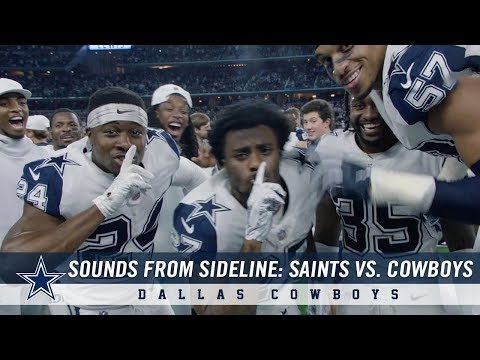 Sounds From The Sideline: Week 13 Saints vs. Cowboys | Dallas Cowboys 2018