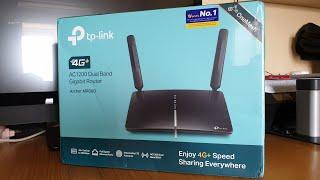 TP-Link Archer MR600 4G+ Cat6 Router Unboxing, Setup & Review Part - 2