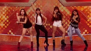 The X Factor UK 2015 S12E11 6 Chair Challenge - Groups - 4th Power Full Clip