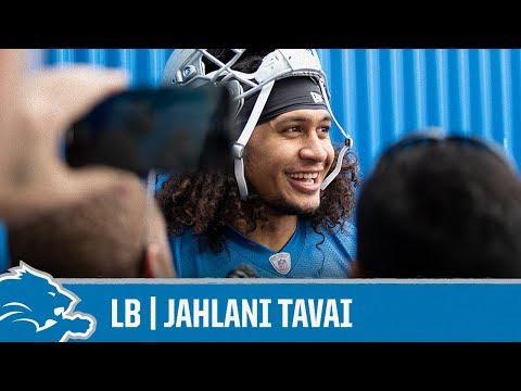 Jahlani Tavai on learning new defense | Detroit Lions Sound Bites