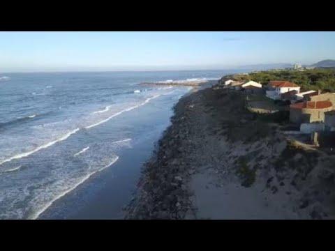 Η παράκτια διάβρωση πλήττει την Πορτογαλία