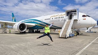 Oman Air B787-9 First Class Delivery Flight
