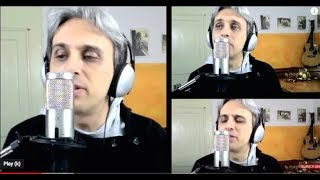 How to sing a cover of Because Beatles vocal harmony