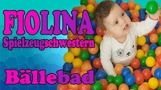 BÄLLEBAD - Fionas Bälle Traum wird wahr - FiolinaTV