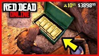 Red Dead Online: 7 СПОСОБОВ ЗАРАБОТАТЬ ДЕНЬГИ! / КАК ЛЕГАЛЬНО РАЗБОГАТЕТЬ? / RDR Online
