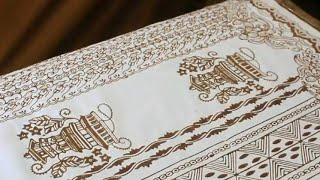 Sarung Batik Kudus Miliki Corak Bertema Kearifan Lokal