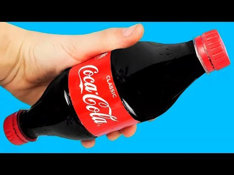 25 VERY FAST COCA COLA LIFE HACKS!