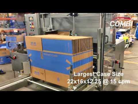 Formadora de cajas 2-EZ SB que arma 20 diferentes tamaños de cajas para una compañía de comercio electrónico