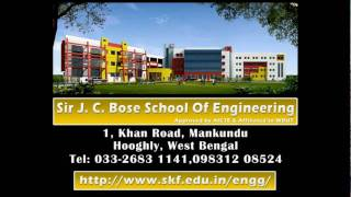 preview picture of video 'Sir J. C. Bose School of Engineering: Engineering College at Mankundu in Hooghly'