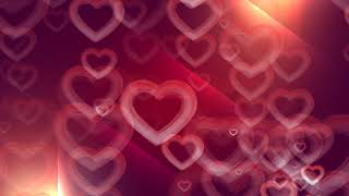 heart background video, Love background video | Romantic Heart background, moving hearts background