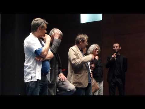 Emilie et Patrick Grandperret, Robinson Stévenin et Antoine Chappey à la Cinémathèque - 25 juin 2016