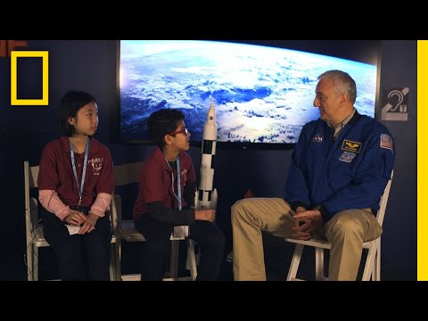 Astronaut Mike Massimino Talks with Kids   One Strange Rock