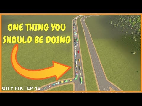 The One Tip For Fixing Your City | CITY FIX | Cities Skylines