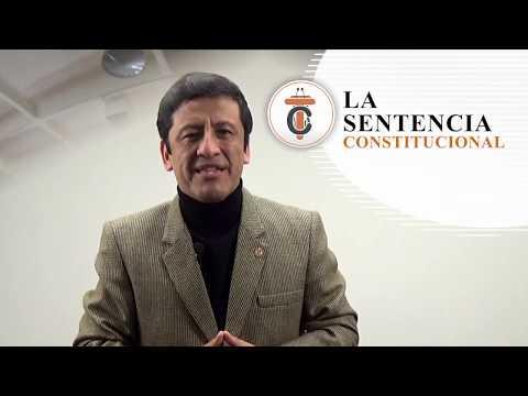 LA SENTENCIA CONSTITUCIONAL - Tribuna Constitucional 65 - Guido Aguila Grados