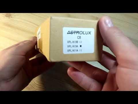 Astrolux C8 XPL-Hi 3A 1300l