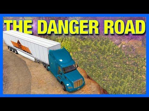 The Most Dangerous Road in American Truck Simulator