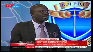 Doctors' contempt case with Jesse Oduor and Duncan Okatch - Part 1 12/1/2017